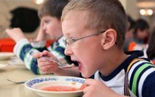 Что нужно для бесплатного питания в школе?